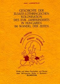 Geschischte der Elsass-Lothringischen Kolonisation